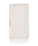 cream arrow towel