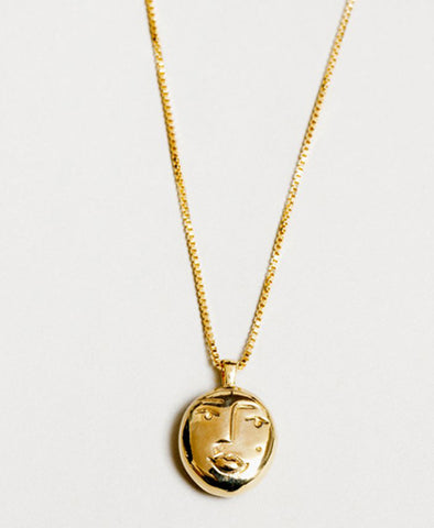Necklace, Evelyn in Gold