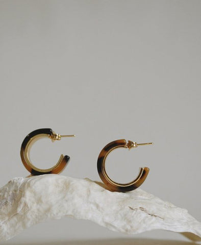 Earrings, Frances Mini Hoops