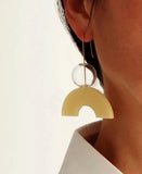 Earrings, Sunrise