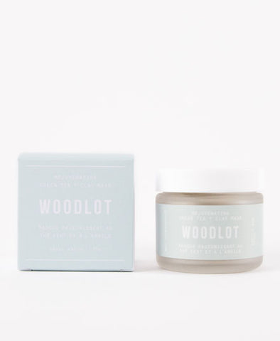 Woodlot, Green Tea + Clay Mask