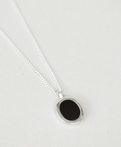 Necklace, Tosh Sterling Silver