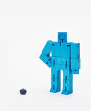 small blue cubebot