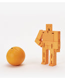 small orange cubebot