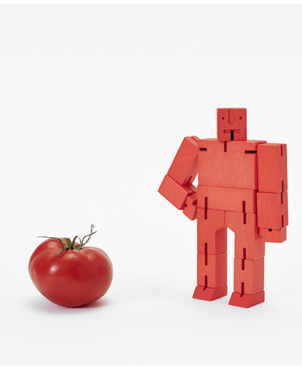 small red cubebot