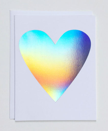 Greeting Card, Hologram Heart