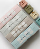 Available in Softening, Restoring & Calming Bars