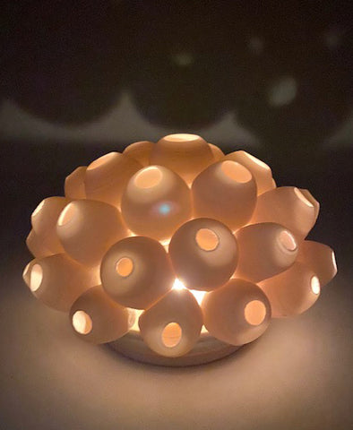 Tea Light Holder, Barnacles