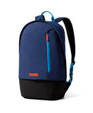 blue neon campus backpack