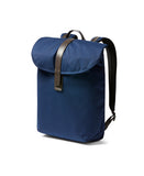 navy slim backpack