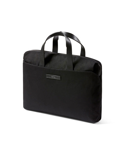 black slim work bag