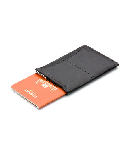 passport sleeve with micro travel pen & refill