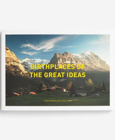 Birthplaces of the Great Ideas Postcards