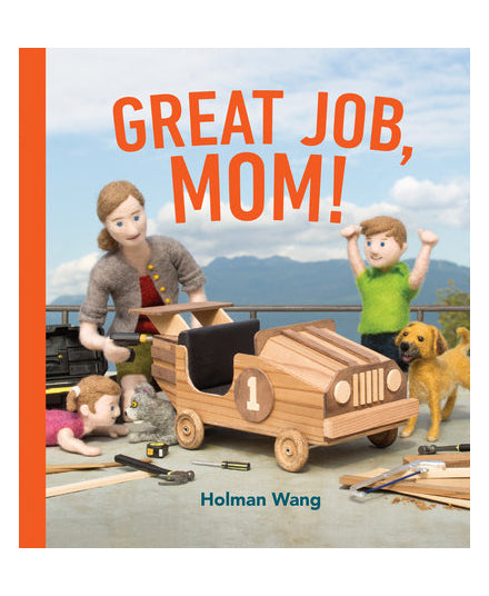 GREAT JOB, MOM! Hardcover Children's Book