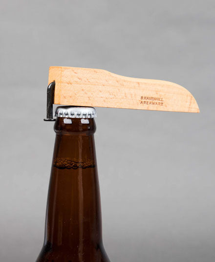 Bottle Opener, in Beech