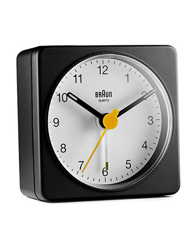 Braun BC02BW Travel Alarm Clock