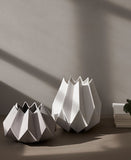 Low & Tall Folded Vases