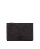 Charcoal Flat Pouch