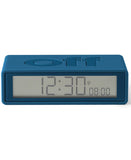 Blue Flip Travel Clock