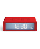 Red Flip Travel Clock