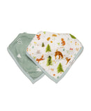 Forest Friends Bib Set