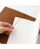 features a midori paper blank notebook made in japan