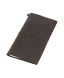 brown traveler's notebook