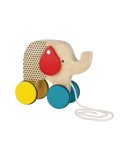 Elephant Wooden Pull Toy