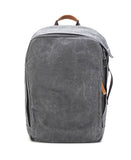 washed grey backpack