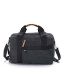 washed black officebag