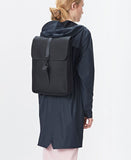 black backpack mini