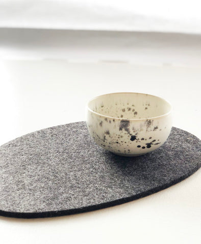 Squid Ink Ceramic Mini Bowl