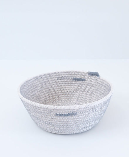 Grey Rope Vessel