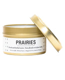 prairies travel candle
