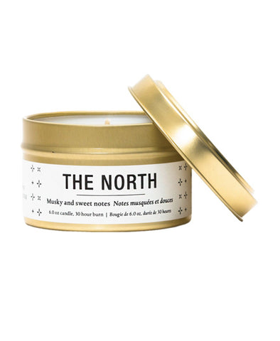 Great White North Travel Candles