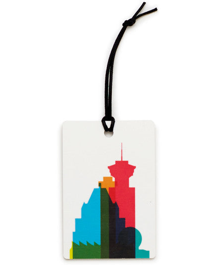 Vancouver Luggage Tag