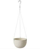 Beige Hanging Planter