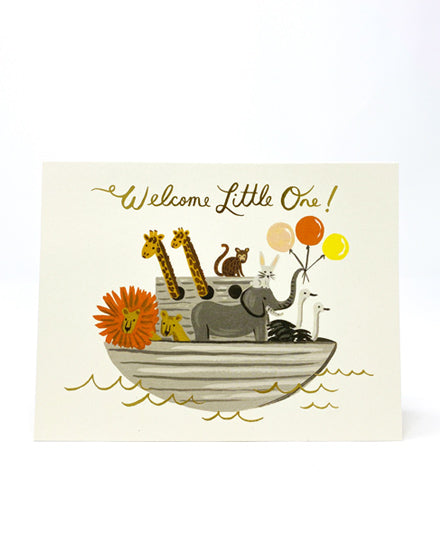 Greeting Card, Noah's Ark