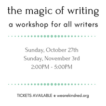 Load image into Gallery viewer, The Magic of Writing: A Workshop for writers of all genres.