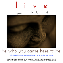 Load image into Gallery viewer, Live Your Truth Workshop