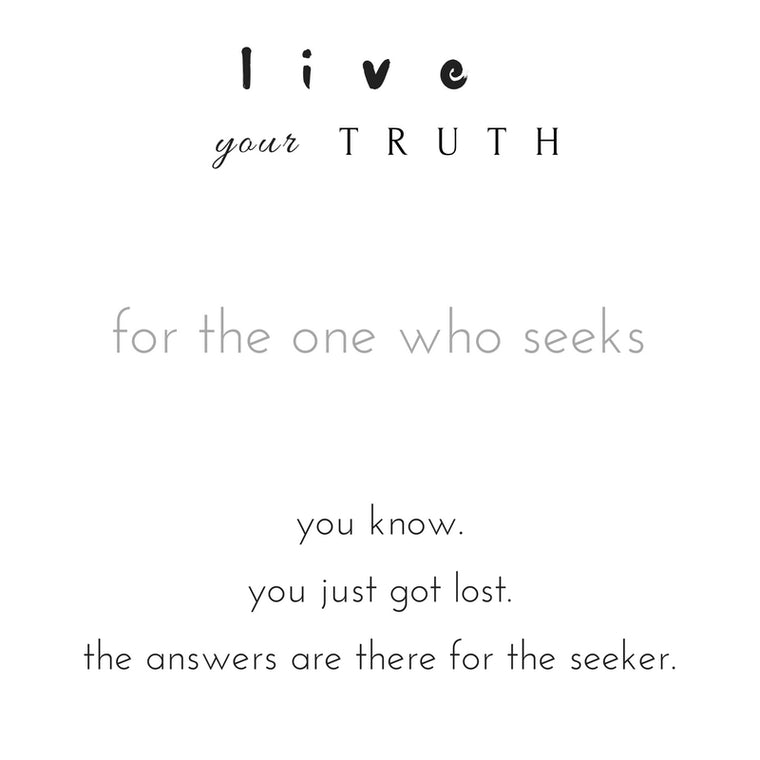 Live your Truth private session.