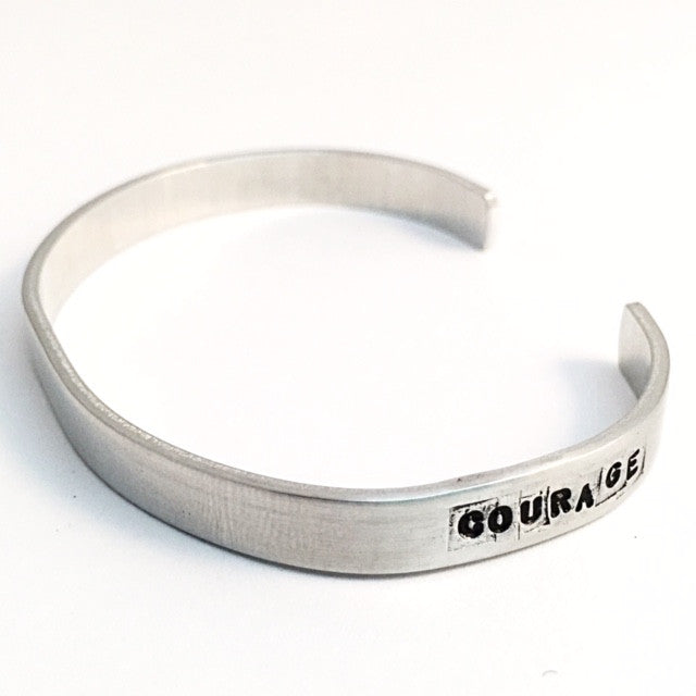 courage bracelet. (strength + confidence)
