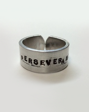 Load image into Gallery viewer, Perseverance ring (persistence + tenacity)