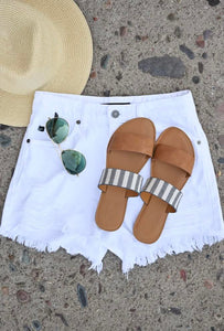 Take Me To The Beach Sandals