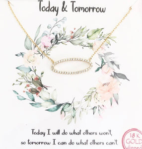 Gold Today & Tomorrow Necklace