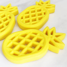 Load image into Gallery viewer, Yellow Pineapple Silicone Teether