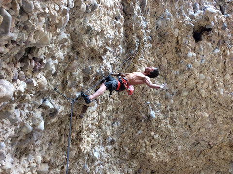 Why Kneepads A Little Advice From Our Friend Chuck Odette Send Climbing