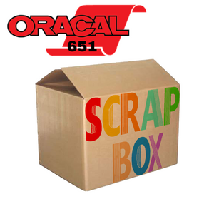Oracal 651 Scrap Box