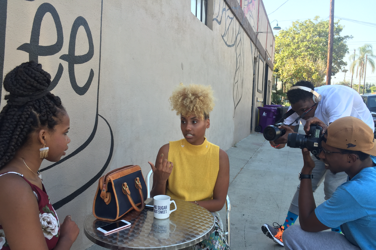 TBT: Behind The Scenes of Tres Chic Lookbook in SoCal