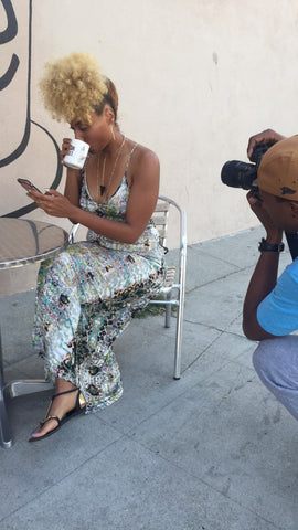Creole Amour BTS Photo Shoot
